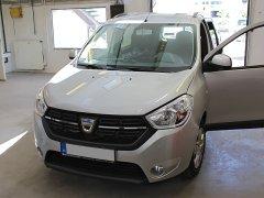 Dacia Lodgy 2018 - Parkradar (Rhino TR4 Light), Riasztó (Rhino CAN03