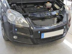 Opel Zafira B 2006 - Riasztó (Rhino CAN03), Parkolóradar (Rhino TR4 Light), Ülésfűtés (Rhino CF-AEM)