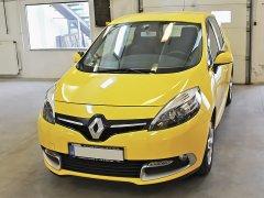 Renault Scenic 2015 - Riasztó (Rhino CAN03), Tolatóradar (Rhino TR-4 Light)