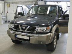 Nissan Patrol 2001 - Tempomat, tolótetőzárás