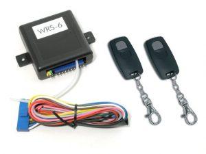 WRS6-2-2M3D Távirányitós modul 2 távkezelővel
