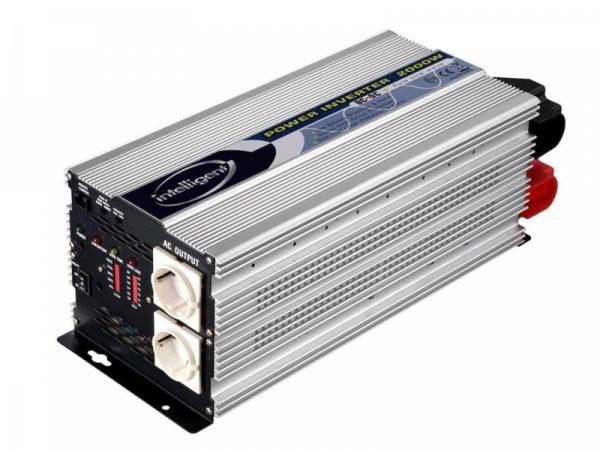 SN-2000-12V/D 12V, 2000W szinusz inverter