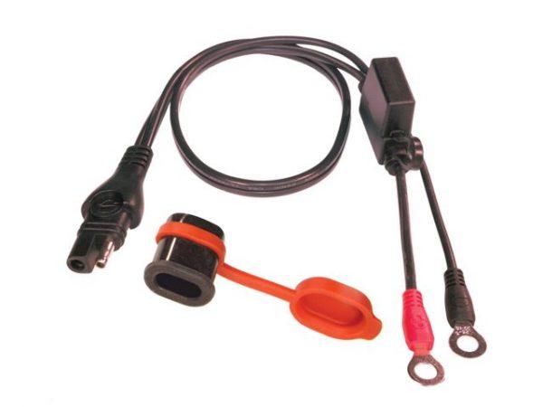 O01 Vízvédett töltőkábel csatlakozó akkumulátorhoz (M6, 5A) 1