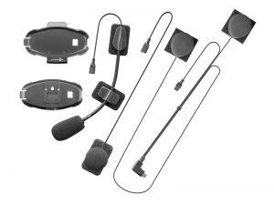 Alkatrész készlet - tartókeret, audió (DUAL MIC, kis hangszóró, '18 mini USB, ACTIVE, CONNECT)