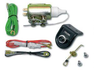 Csomagtérnyitó elektromágnes