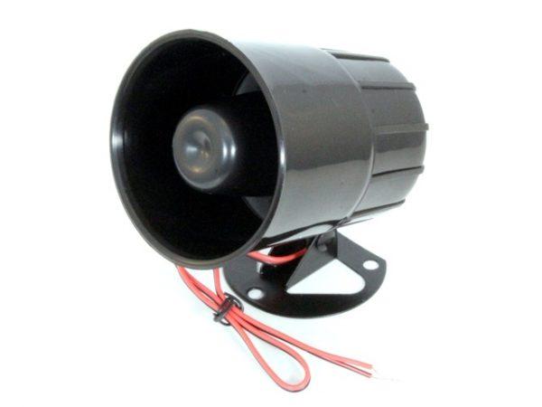 HC-606-1200W Dinamikus sziréna (12V, 1A, 20W, 100dB, egy tónus)