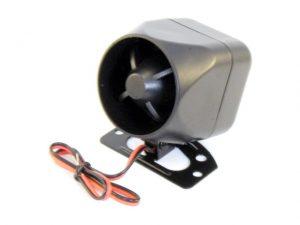 HC-506-1200W Dinamikus sziréna (12V, 1A, 20W, 100dB, egy tónus)