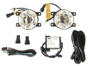 Esuse EL6068 LED nappali menetfény és ködlámpa, Suzuki, Renault, Dacia