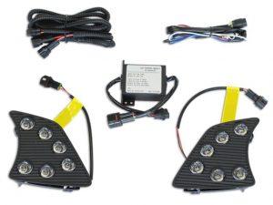 Esuse DL-TY076 LED nappali menetfény, Toyota Hilux 2011-2016