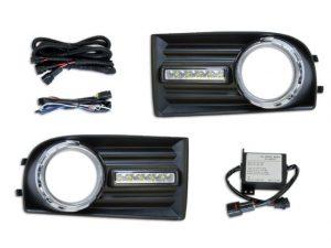 Esuse DL-VW002 LED nappali menetfény, Volkswagen Golf 5 (1K) 2004-2009