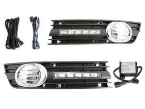 Esuse DL-AD001 LED nappali menetfény, Audi A4 (B6/8E) 2001-2005