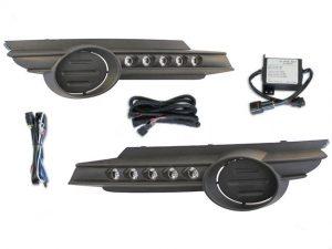 Esuse DL-OP001 LED nappali menetfény, Opel Corsa D 2007-2014