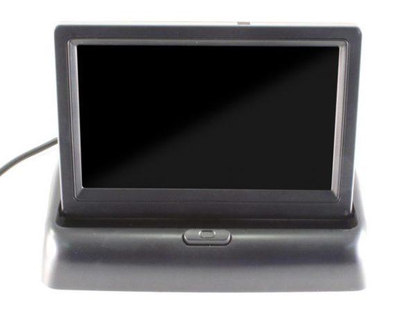 """ET-438 LCD monitor (felnyíló, 4.3"""", 16:9, 1200x680, PAL/NTSC, 2db AV bemenet) 1"""