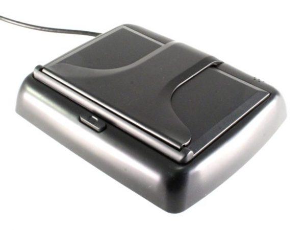 """ET-438 LCD monitor (felnyíló, 4.3"""", 16:9, 1200x680, PAL/NTSC, 2db AV bemenet) 2"""