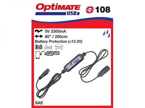 O108 Univerzális USB töltő (3,3A) 1