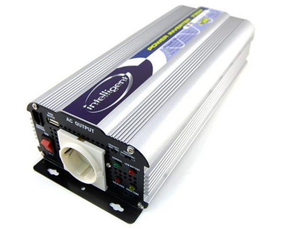 Intelligent SN-700USB-24V inverter (24V, 700W, szinusz, USB) 1