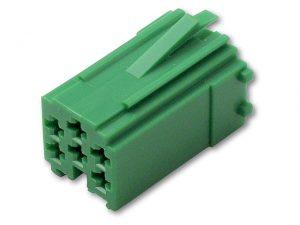 Mini ISO zöld (csak aljzat, CM 6V)