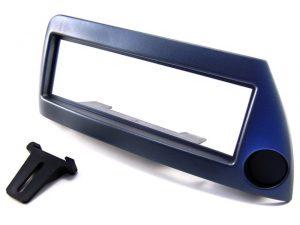 Ford Ka 1996-2008 rádiókeret, 1DIN, kékes-ezüst