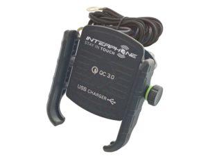 Interphone MOTOCRAB univerzális telefontartó kormányrúdra (USB)