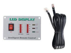 Intelligent RC-LED inverter távkezelő és kijelző