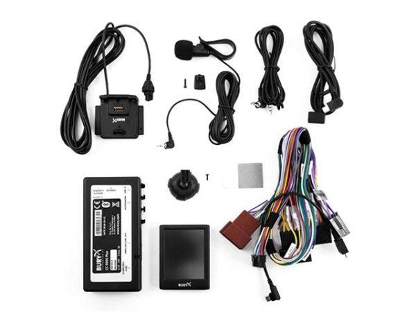 BURY CC9056 Plus Bluetooth autós telefonkihangosító 3