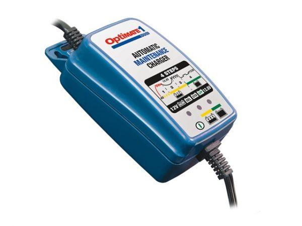 TecMATE OptiMATE 1 DUO automata savas ólom- és lítiumos akkumulátortöltő (12V & 12.8V, 0.6A)