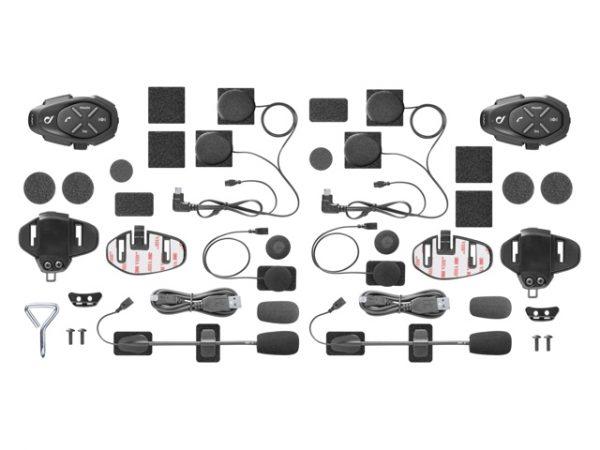 Interphone LINK TWIN PACK Bluetooth sisak kommunikációs rendszer 7