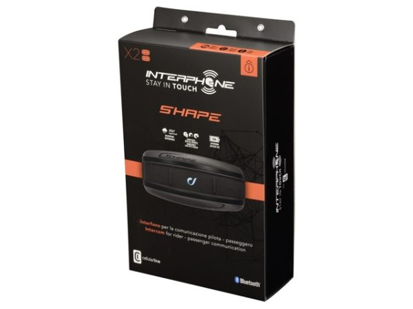 Interphone SHAPE TWIN PACK Bluetooth sisak kommunikációs rendszer 1