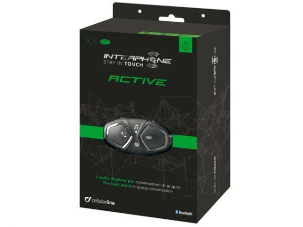 Interphone ACTIVE Bluetooth sisak kommunikációs rendszer 1