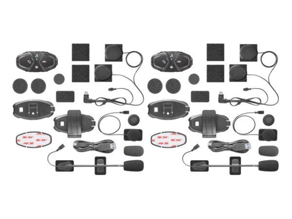 Interphone ACTIVE TWIN PACK Bluetooth sisak kommunikációs rendszer 9