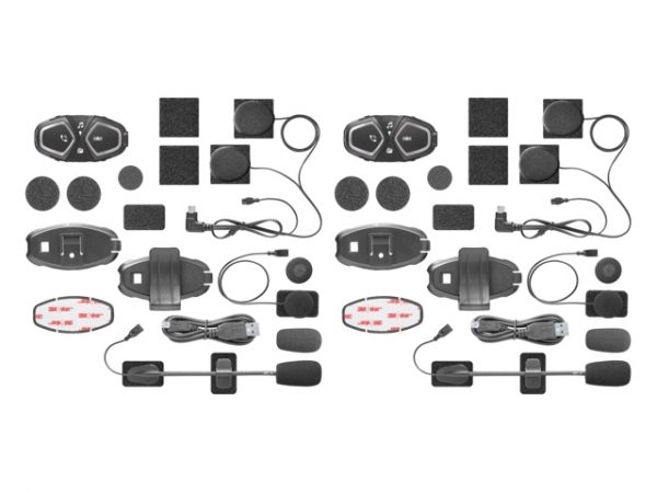 Interphone CONNECT TWIN PACK Bluetooth sisak kommunikációs rendszer 7