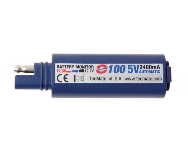 TecMATE O100 univerzális USB töltő (2,4A) 2